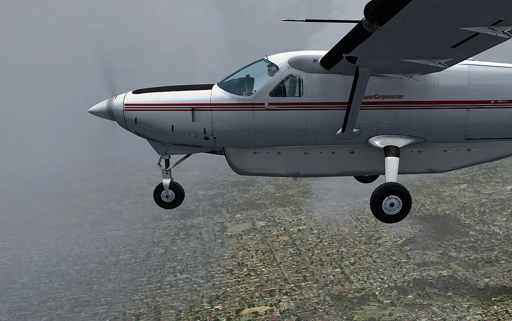 Carenado - C208B Super Cargomaster Exp. Pack (FSX/P3D)